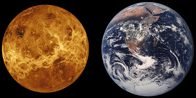 Venus and Earth: Too Much Carbon Dioxide Doesn't Do A Planet Good